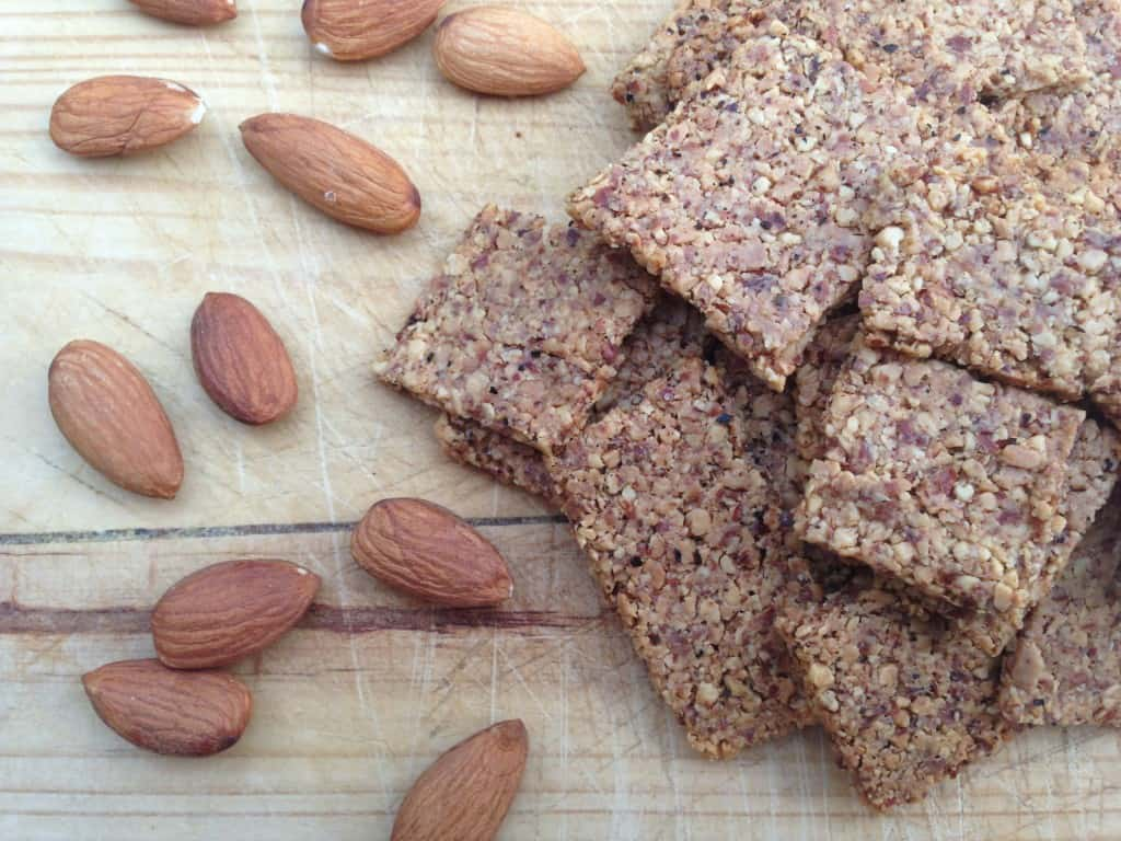 clean almond crackers 3