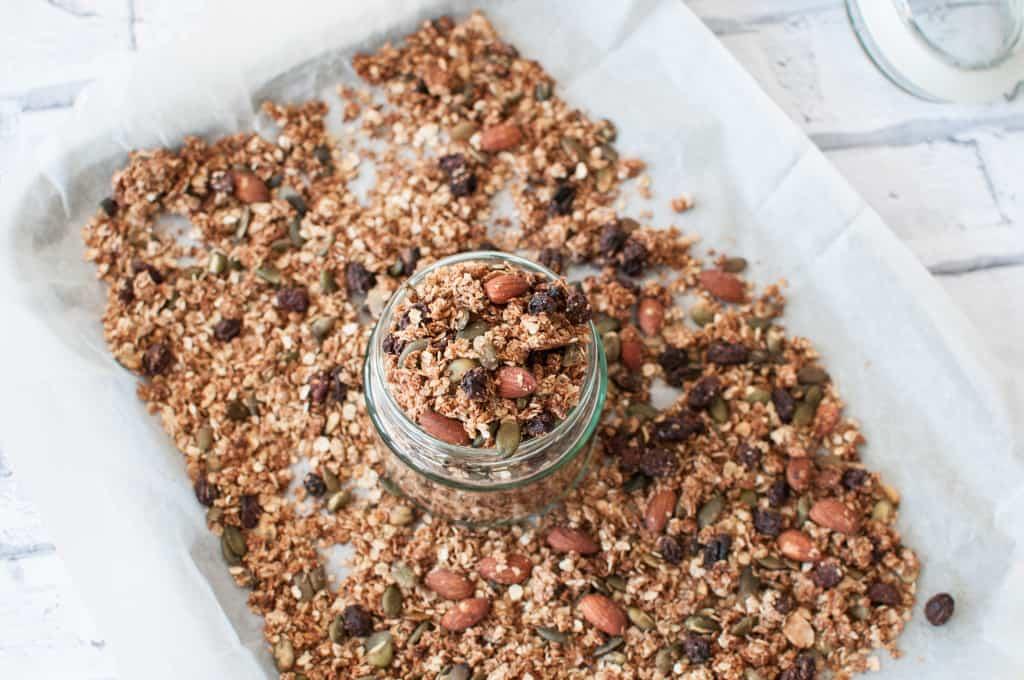 clean eating granola recipe 1