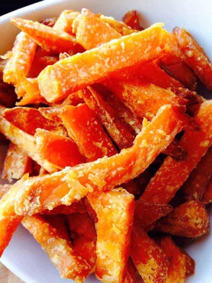 Best coconut flour recipes - Clean sweet potato fries
