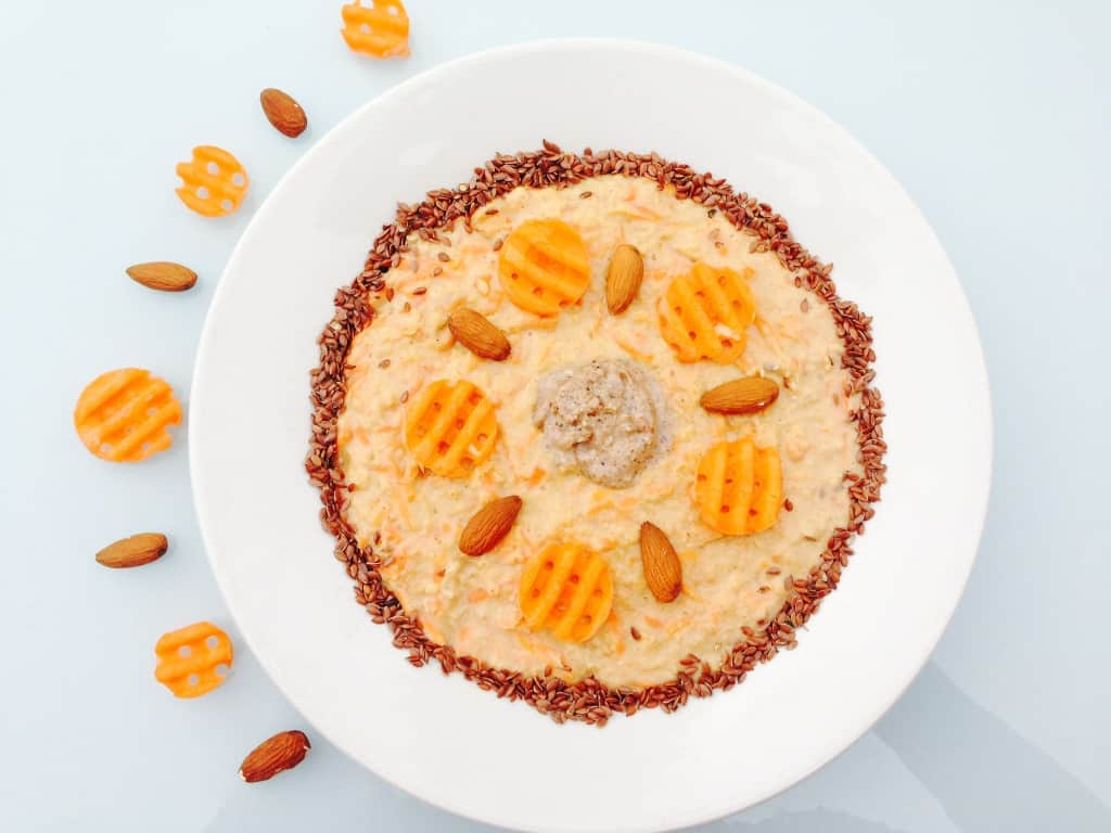 Carrot Cake Porridge click on the photo to get the recipe