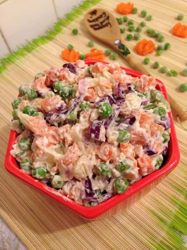 Clean potato salad
