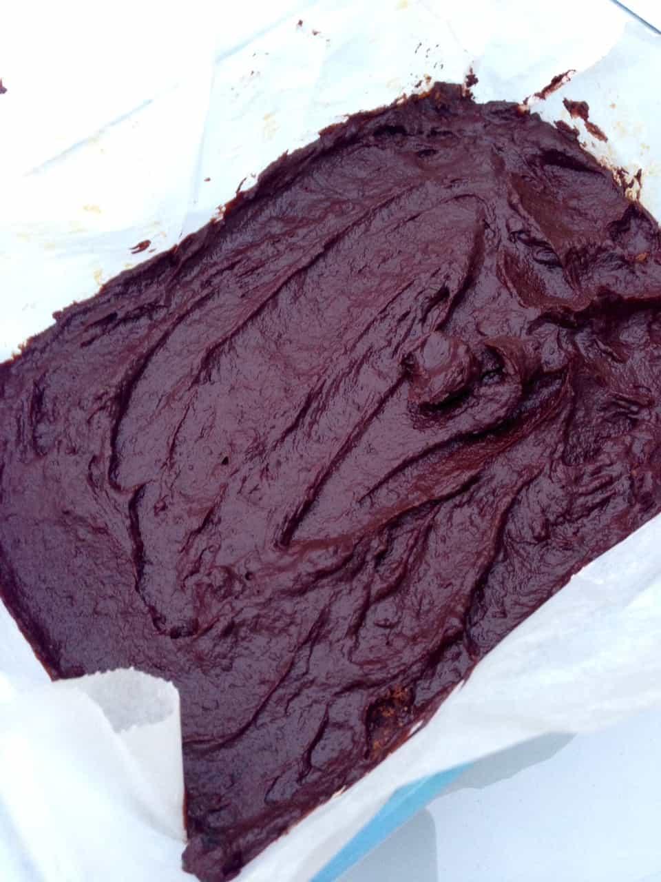 Clean chocolate oat bars 1