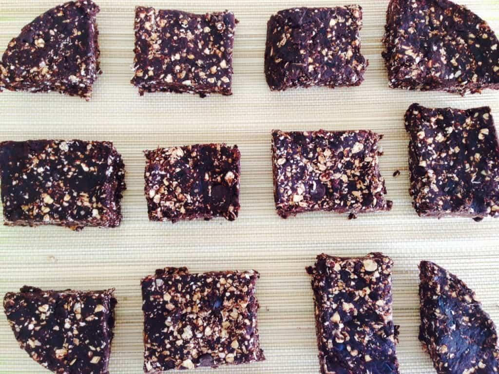 Triple chocolate brownies 2