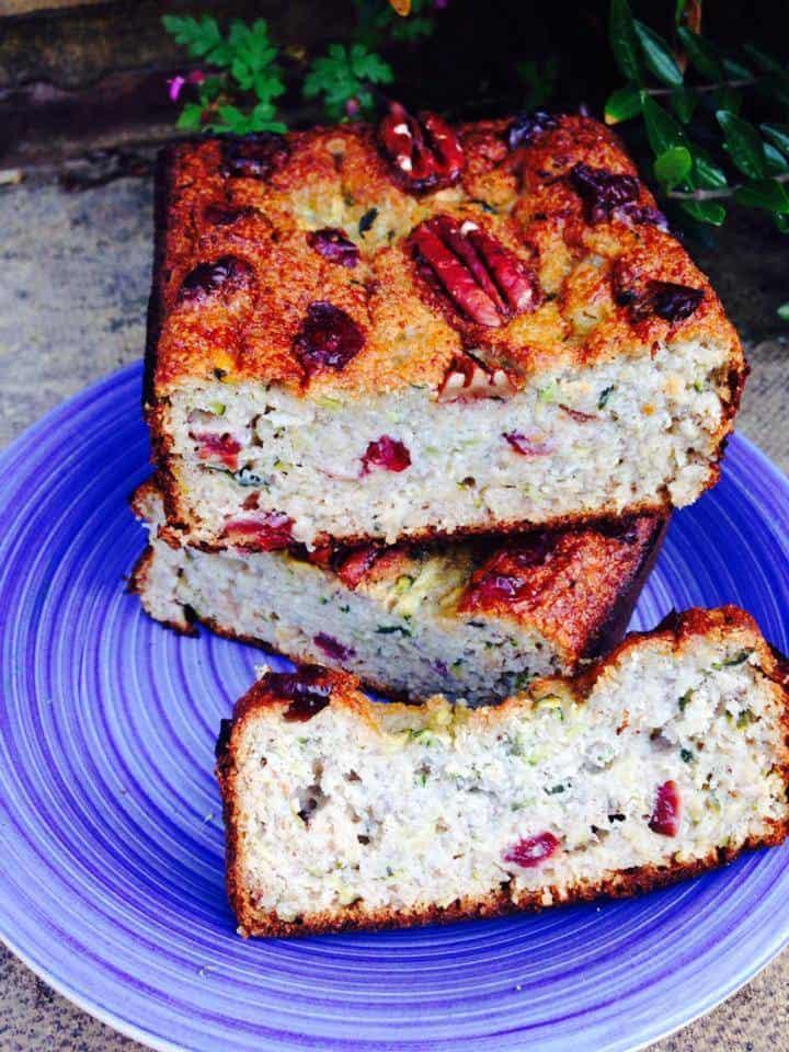 Best coconut flour recipes - Courgette/ Zucchini bread