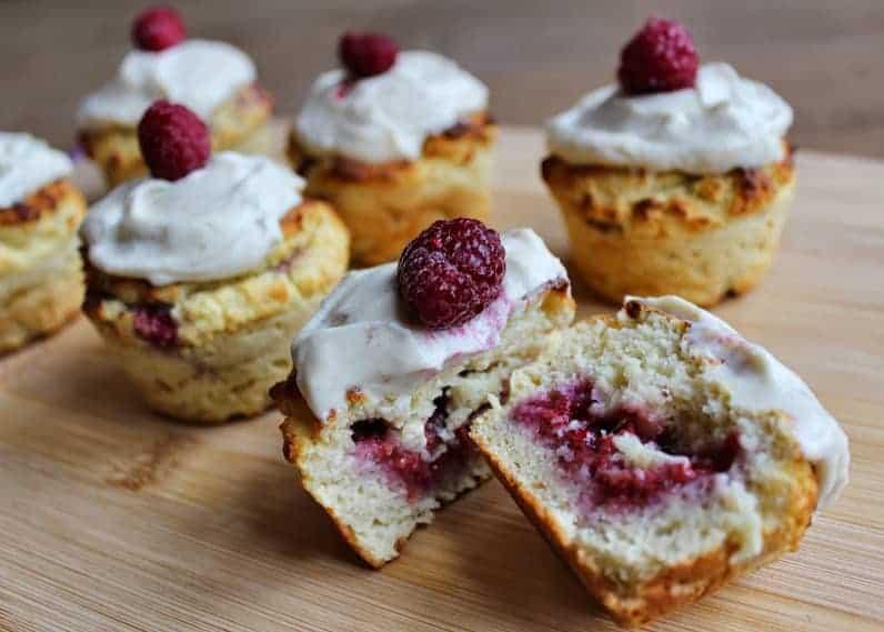 Best coconut flour recipes - Berrylicous Suprise Muffins by Spamella B