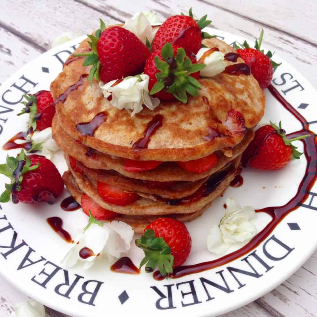 Clean and simple pancakes recipe