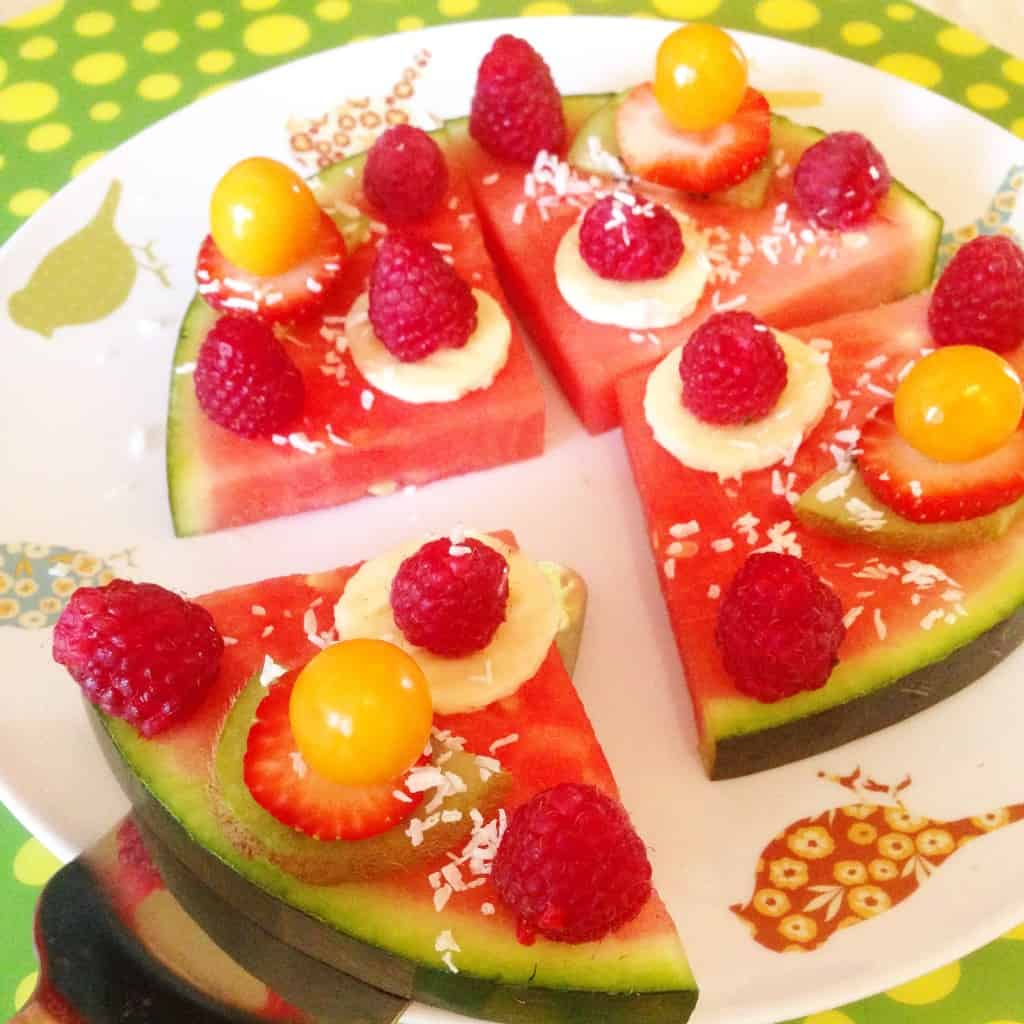 Watermelon smoothie and pizza recipe - Image 2
