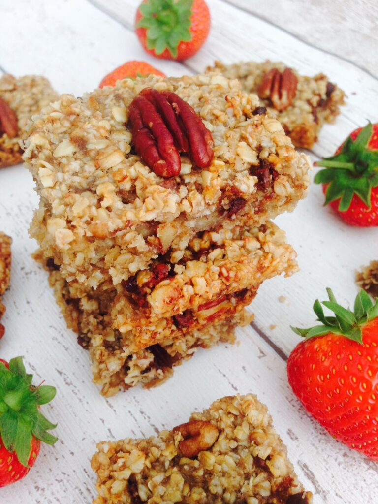 Healthy chocolate flapjack recipe - Image 1