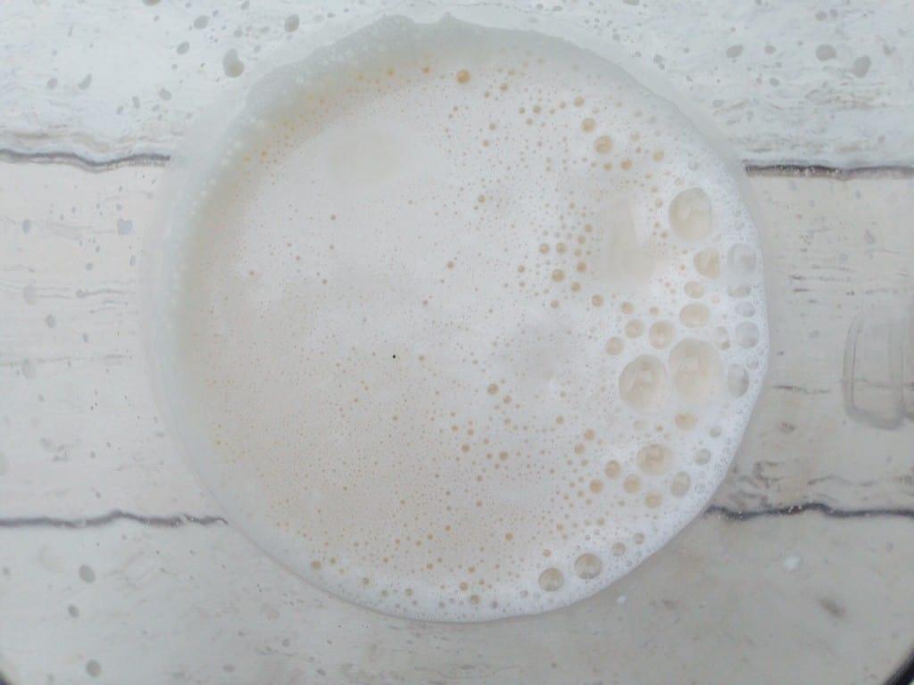 Homemade almond milk 2