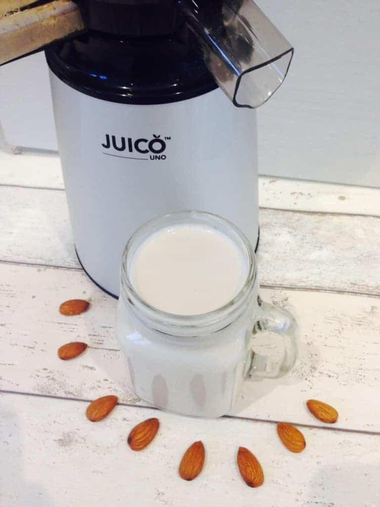 homemade almond milk 6
