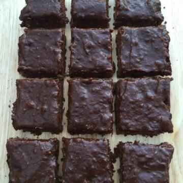 Nut free brownies recipe