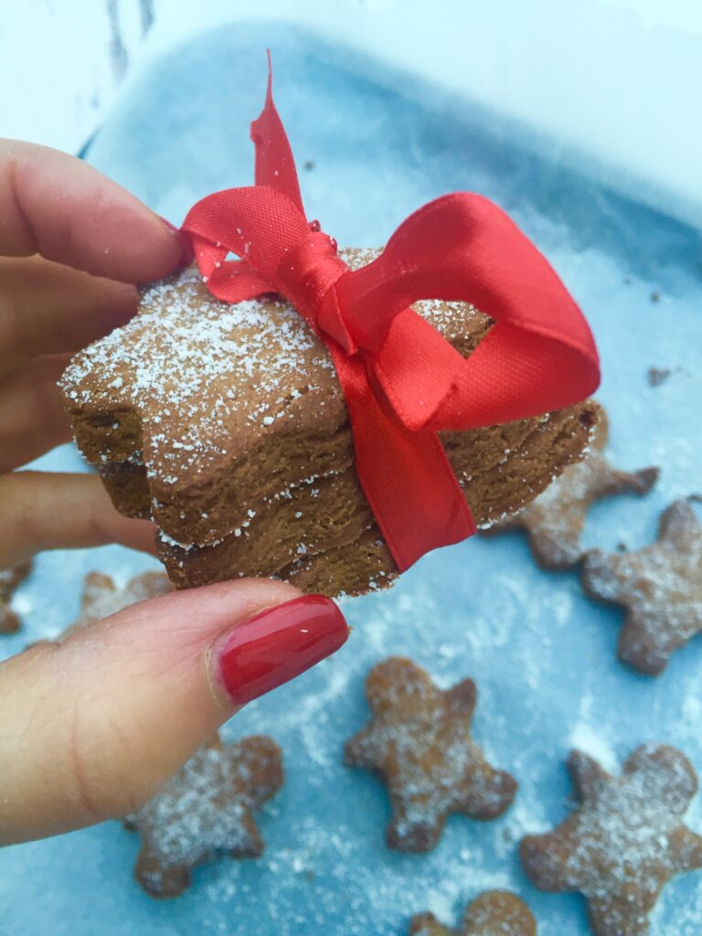 Clean gingerbread men, click on photo to get the recipe