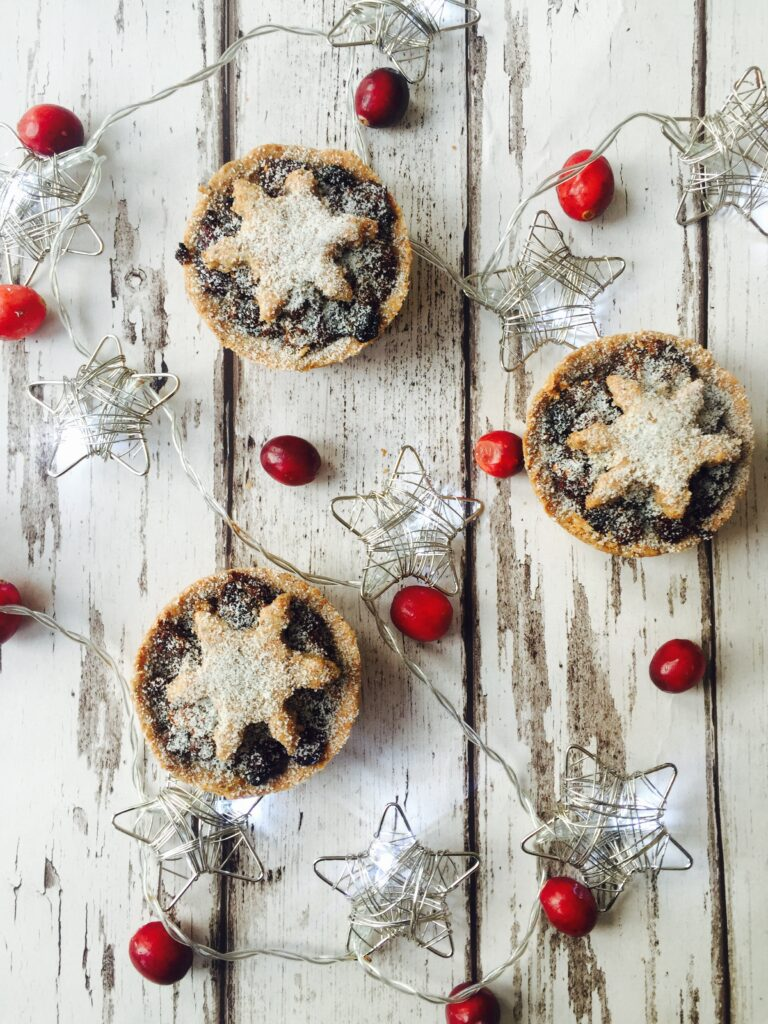 Clean mince pies, click on the photo to get the recipe