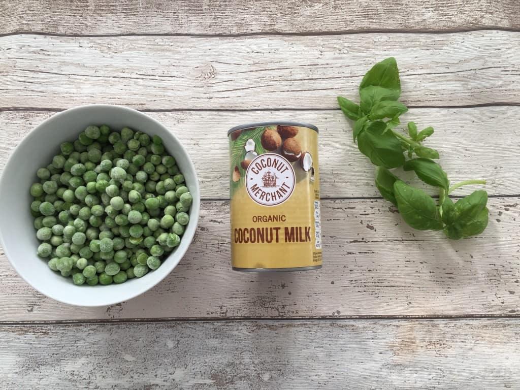 Creamy pea and basil soup recipe - Image 1