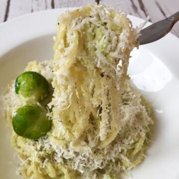 Leftover Brussel sprout pesto recipe
