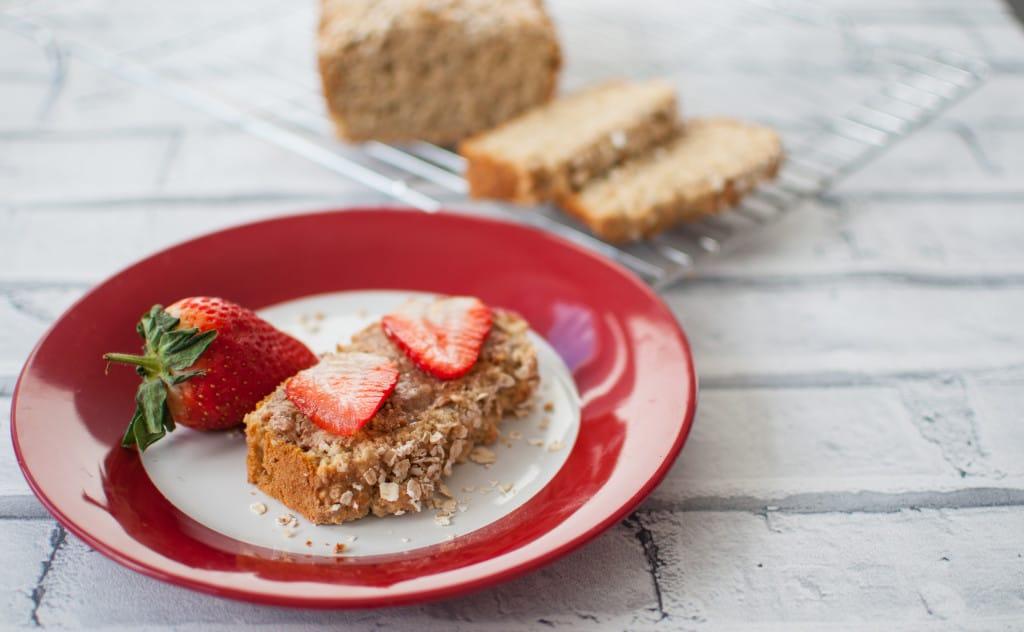 Clean eating oat bread recipe