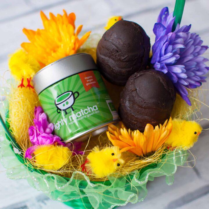 Clean eating chocolate Easter eggs 1