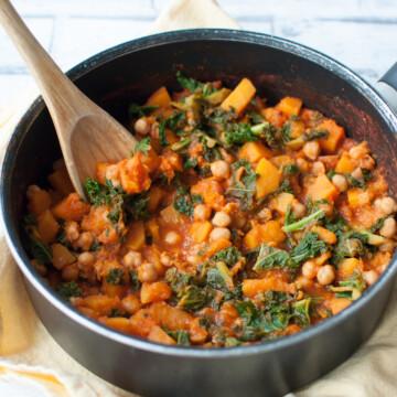 Clean eating butternut squash stew recipe | Hedi Hearts