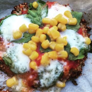 Mini cauliflower pizzas recipe 1