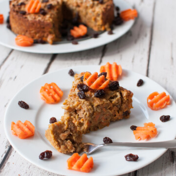 Clean eating carrot cake recipe | Hedi Hearts