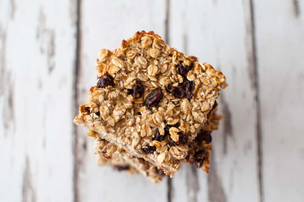 Healthy breakfast bar recipe 1