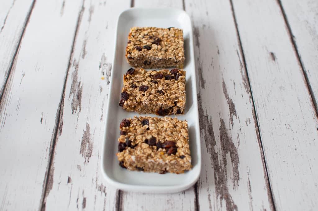 Healthy breakfast bar recipe 2