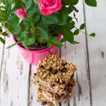 Healthy breakfast bar recipe | Hedi Hearts Clean Eating