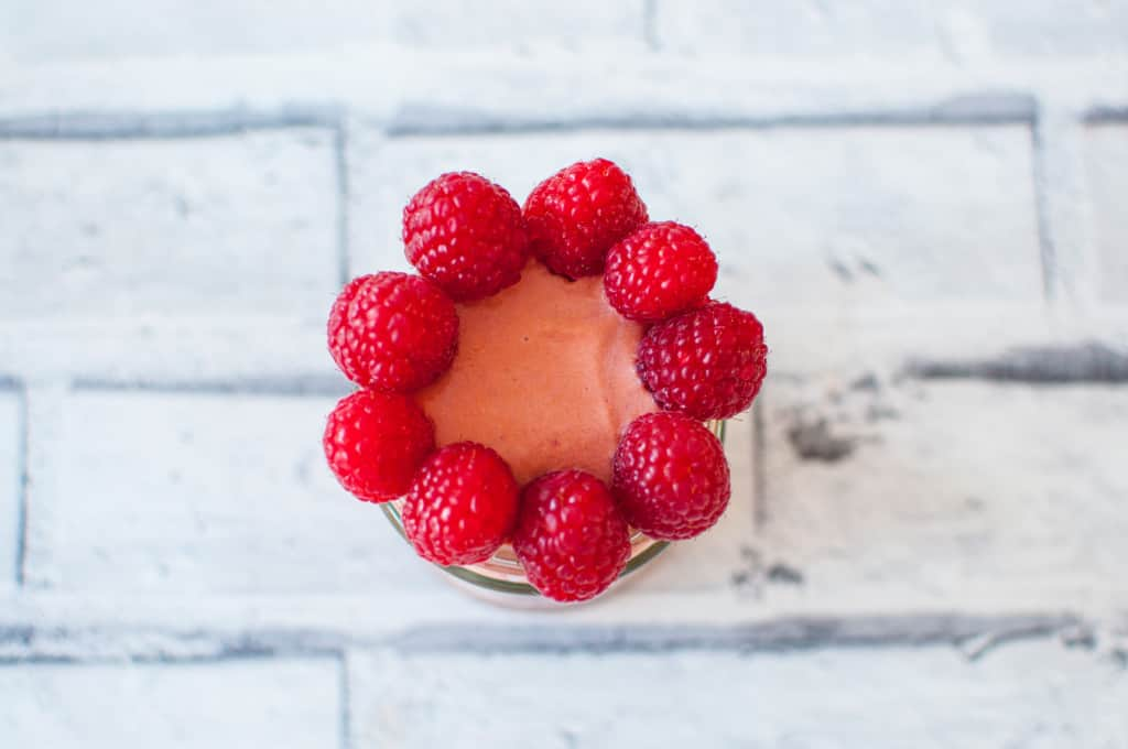 Sweet potato smoothie with lingonberry recipe 5