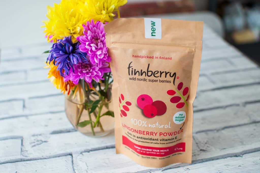 Sweet potato smoothie with lingonberry recipe 2
