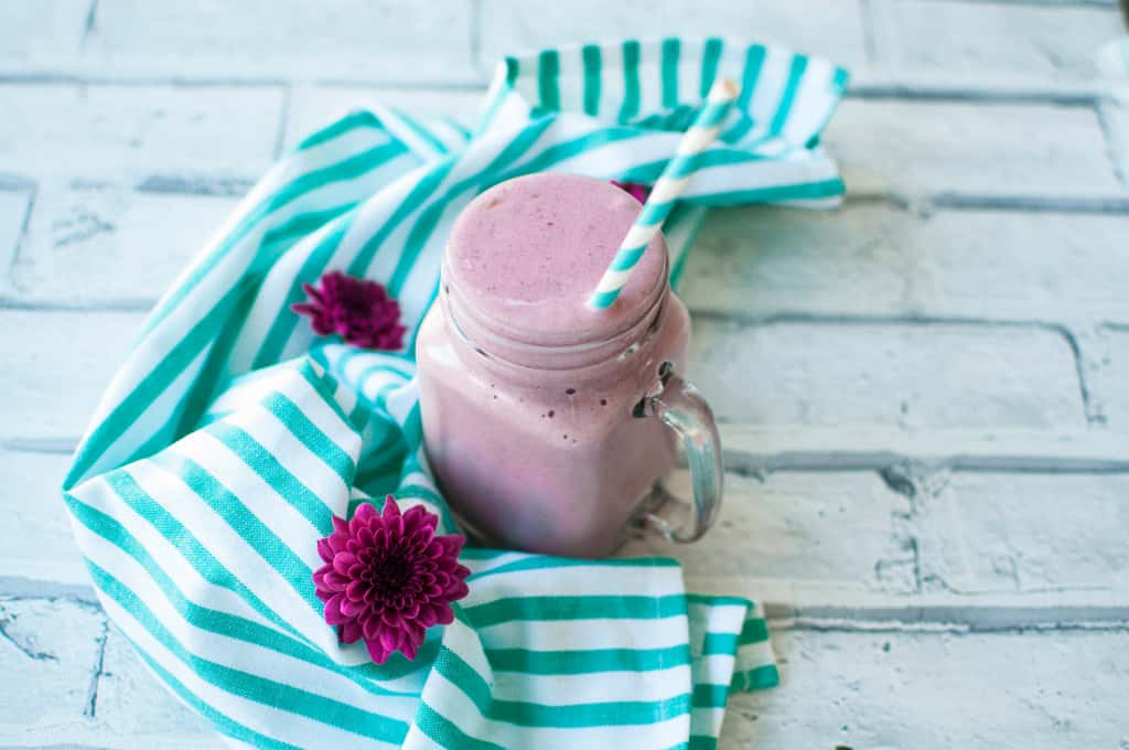 Sweet potato smoothie with lingonberry recipe 7