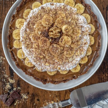 Healthy Banoffee Pie
