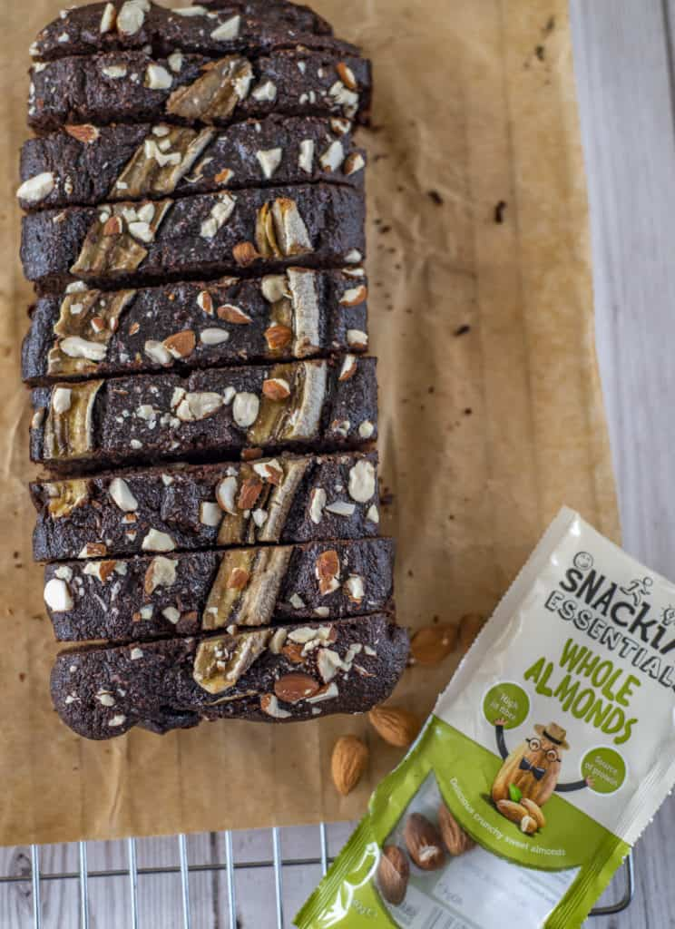 Chocolate Banana Bread is a delicious, healthy recipe that is easy to make with simple and good-for-you ingredients. Vegan & Gluten-Free #healthyrecipes #healthytreats #veganbananabread #veganfood #veganrecipes #glutenfree #cleaneatingrecipes #cleanvegan #cleanvegetarian