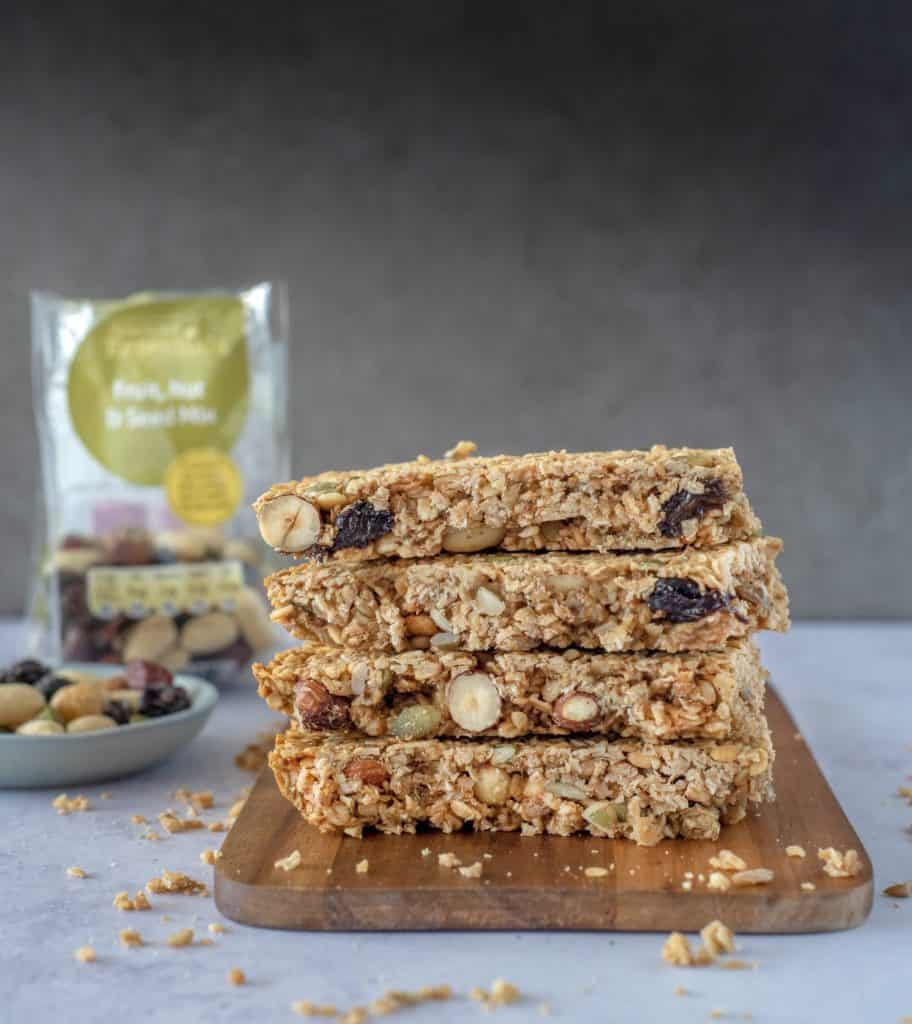 Delicous Nutty Flapjack