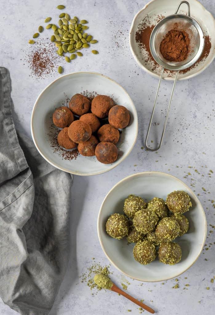 The best vegan energy balls