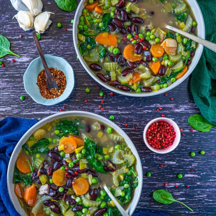Healthy and Easy Vegetable Soup Recipe