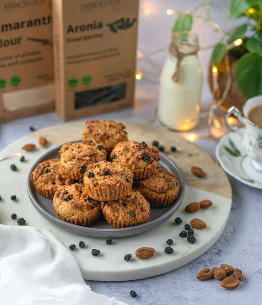 Wholesome Amaranth muffins