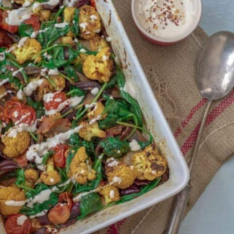 One-Pot Healthy Cauliflower Bake Recipe
