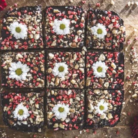 Healthy chocolate glazed brownie recipe