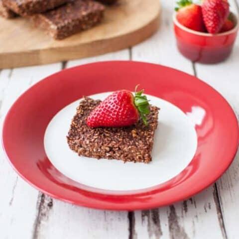 Clean eating chocolate squares recipe