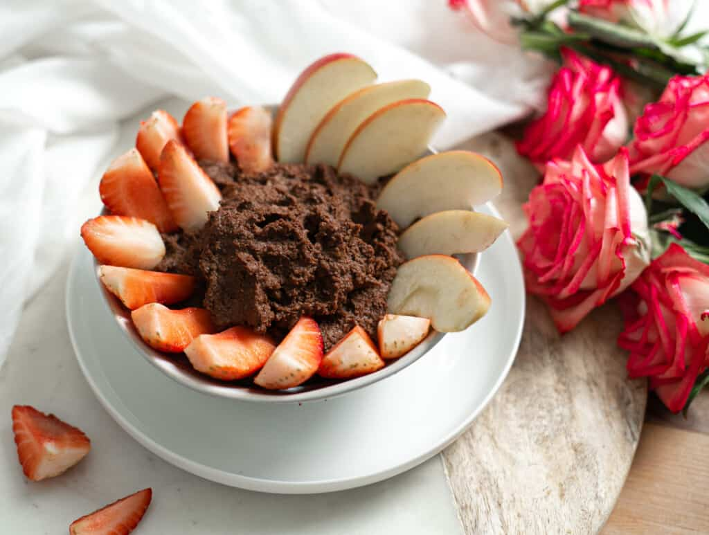 Healthy Chocolate Hummus