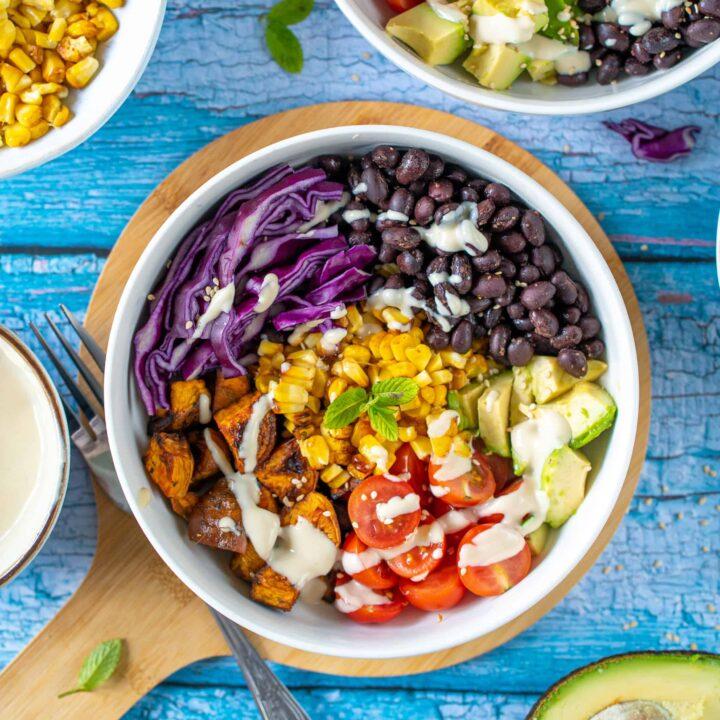 Healthy Burrito Buddha Bowl